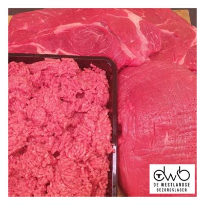 Jubileum Rundvlees Pakket (voor maar €30,-)