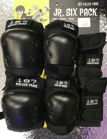 187 Six Pads Jr. (Black)