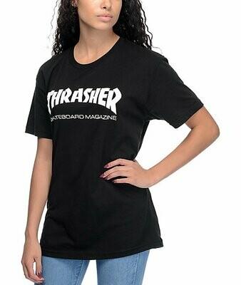 Thrasher Women's Black T-Shirt