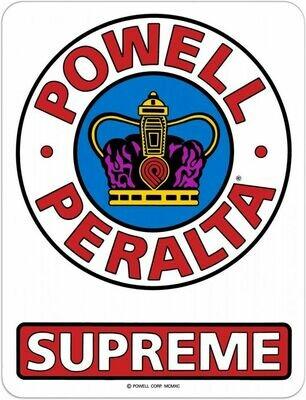 Powell Peralta Supreme Sticker