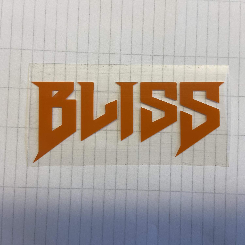 Iron-On Bliss Logo