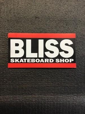 Bliss Skateboard Shop Magnet