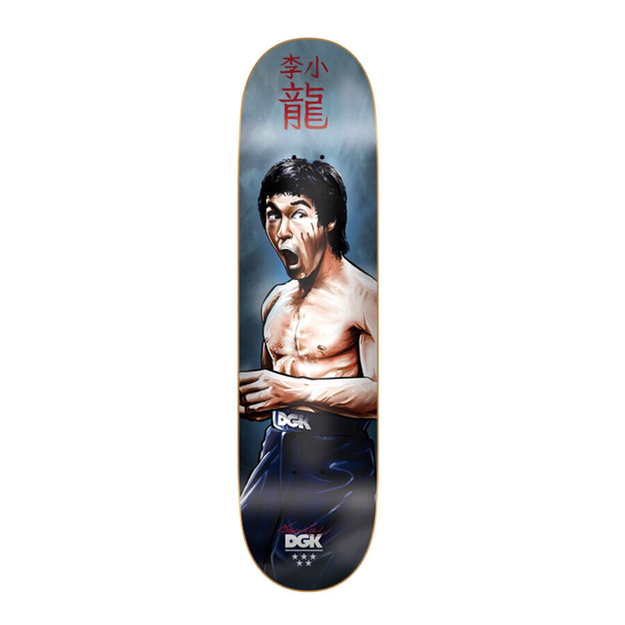 DGK - Bruce Lee Focused Deck 8.0