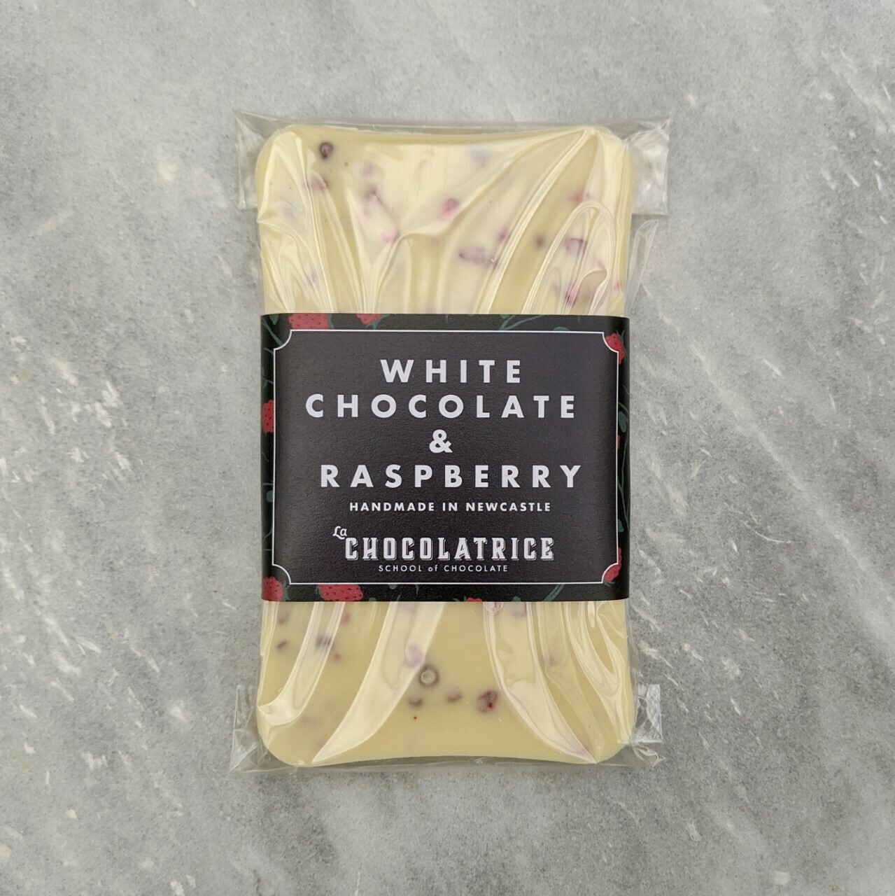 White Chocolate & Raspberry Bar
