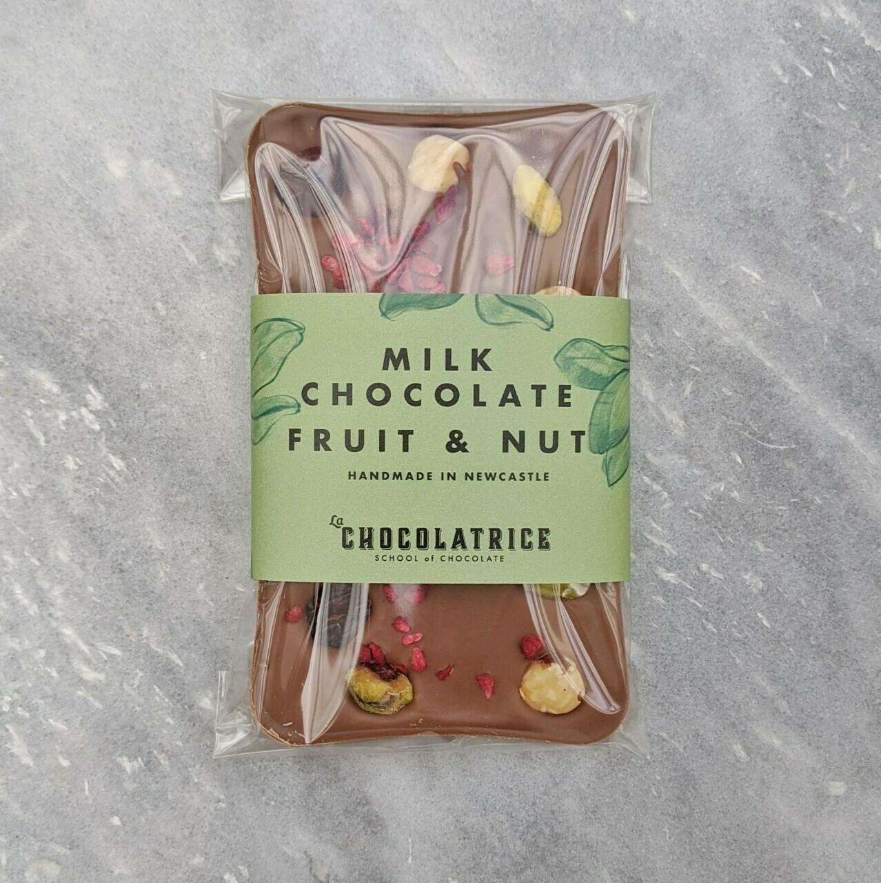 Milk Chocolate Fruit and Nut
