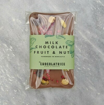 Milk Chocolate Fruit and Nut