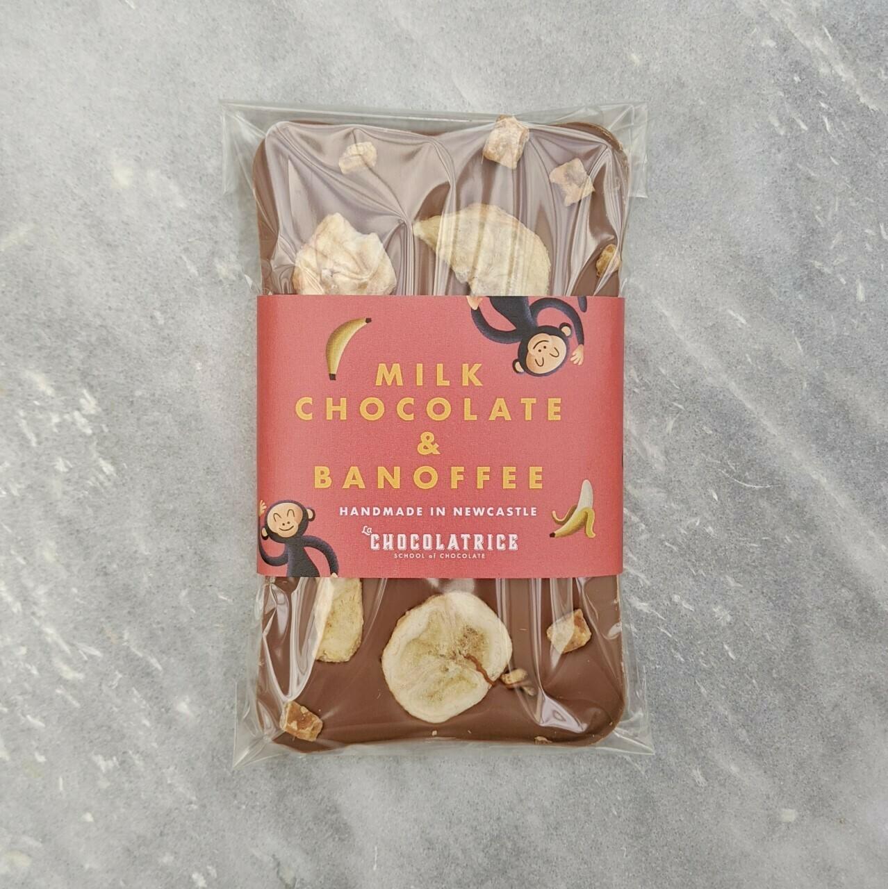 Milk Chocolate Banoffee Bar