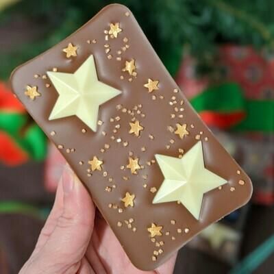 The Milk Chocolate Christmas Star Bar