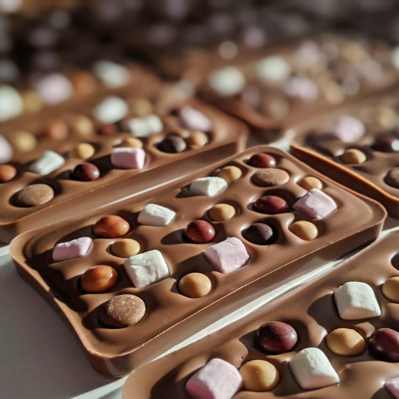 Milk Chocolate Rocky Road Bar