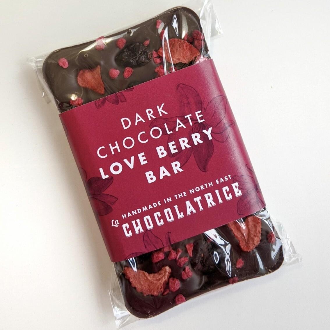 Dark Chocolate Berry Bar (dairy-free)
