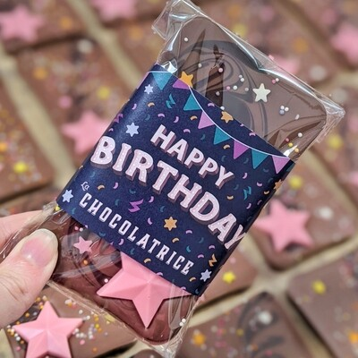 The Birthday Shooting Star Bar