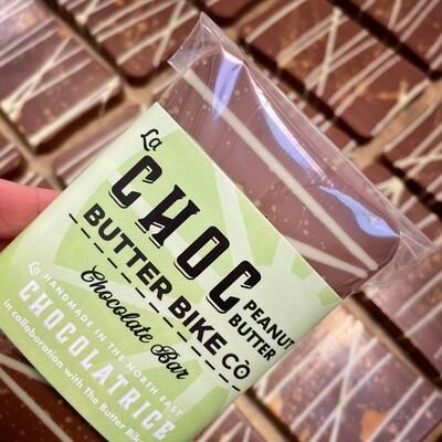 The La Choc Peanut Butter Butter Bike Co Chocolate Bar