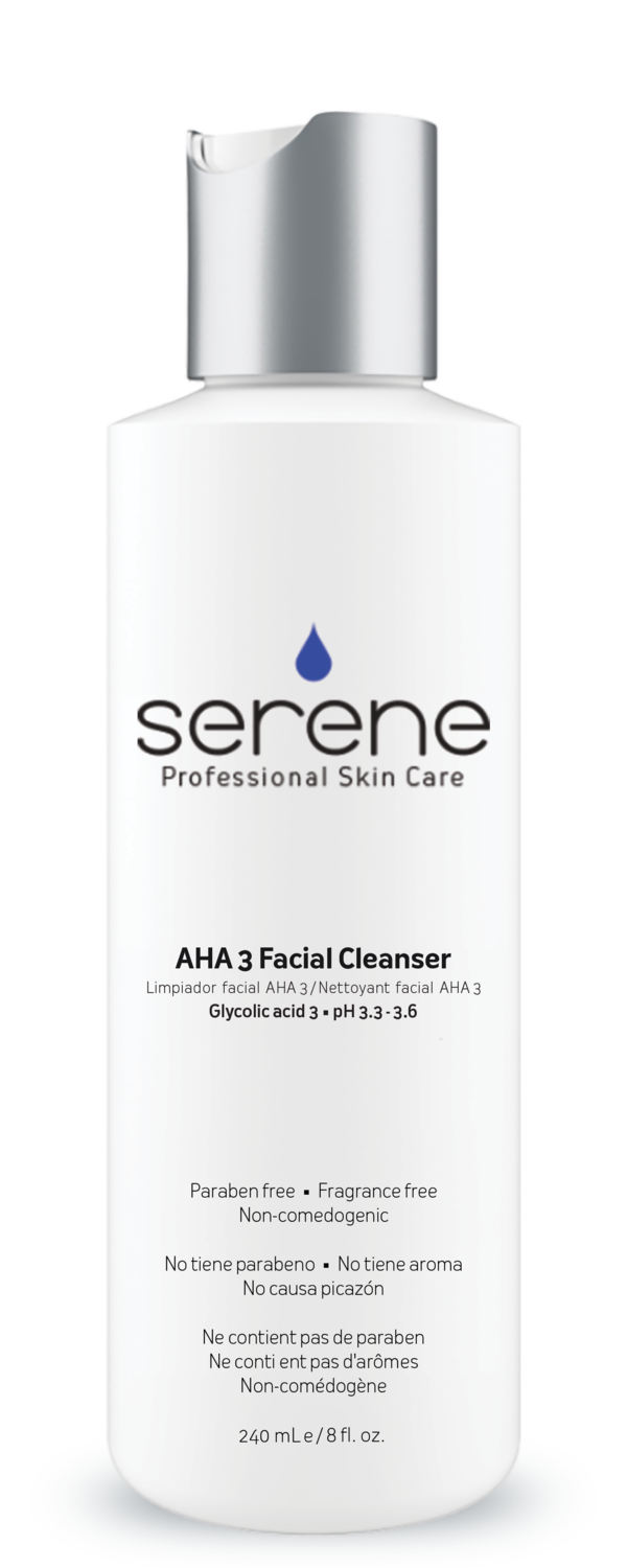 AHA 3 FACIAL CLEANSER