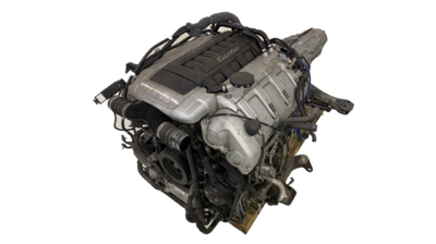 Porsche V8 4.8L Twinturbo 500hk