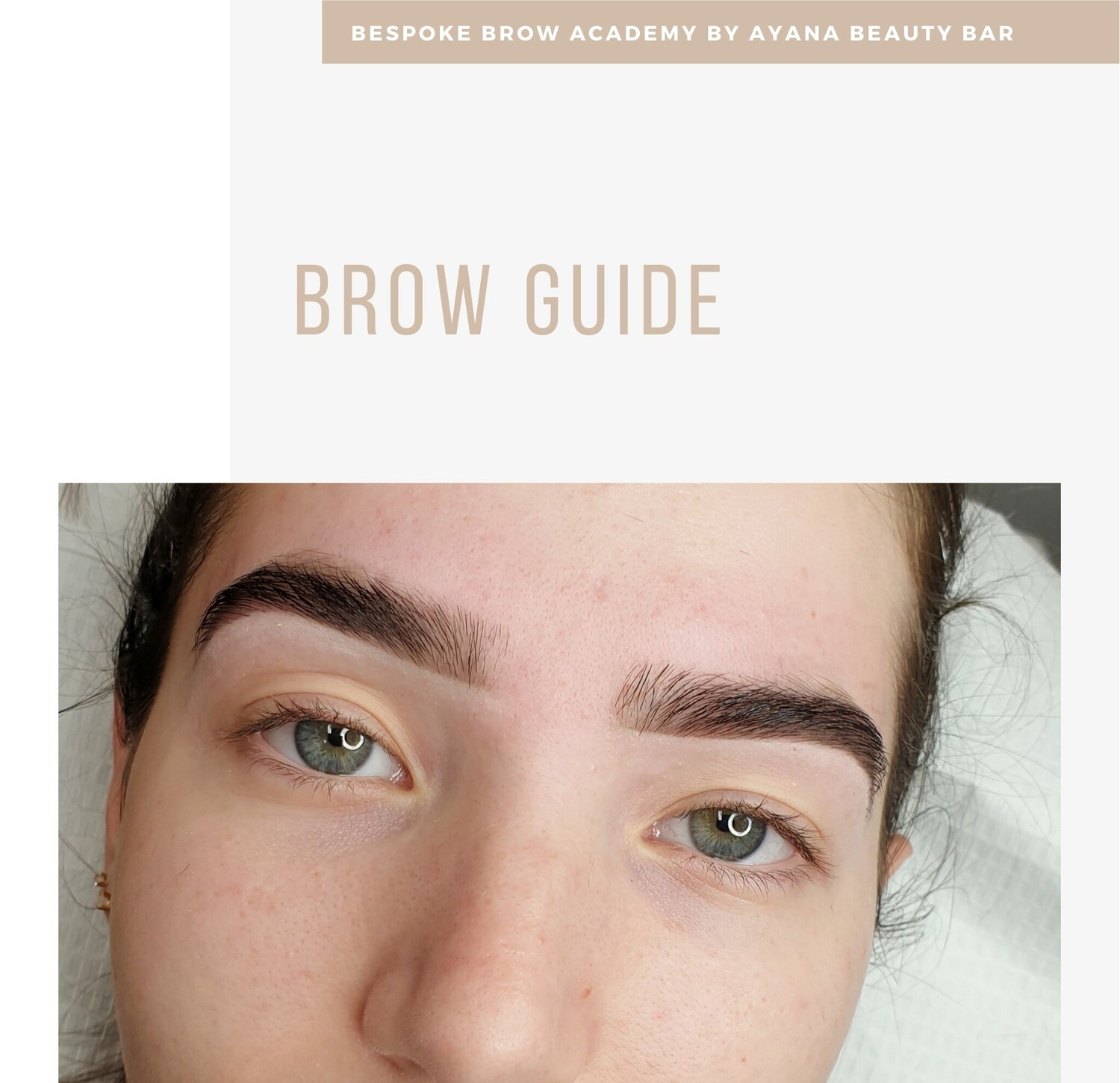 Brow Guide - Professional Use Only