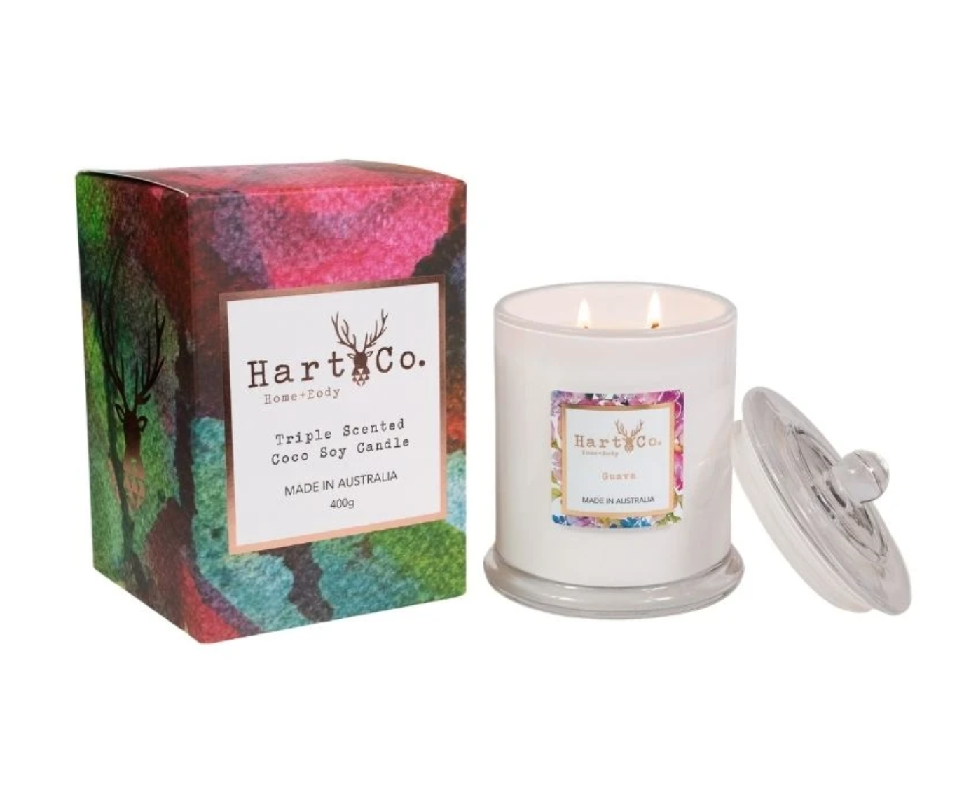 Guava Double Wick 400g Candle