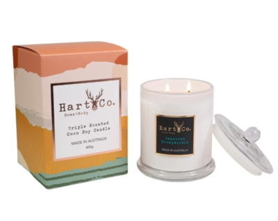 Japanese Honeysuckle Double Wick 400g Candle