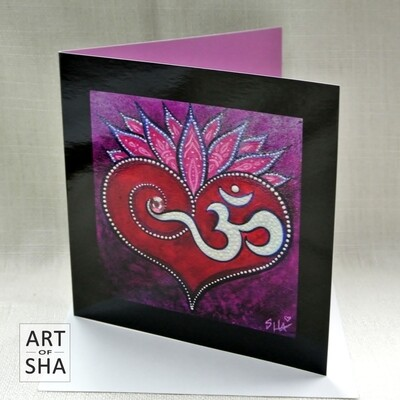 """Heart of Creation"" - Art Card"