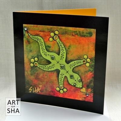 """Ground & Center"" - Art Card"