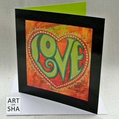 """One"" - Art Card"