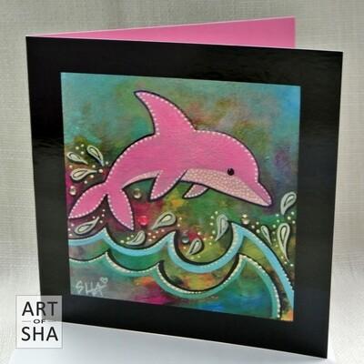 """""""Joy"""" - Art Card"""