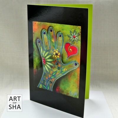 """""""Free Spirit"""" - Art Card"""