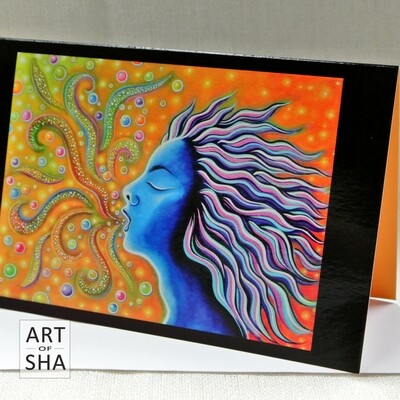 """Liberation"" - Art Card"