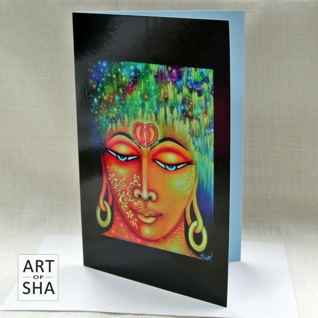 """Universal Love"" - Art Card"