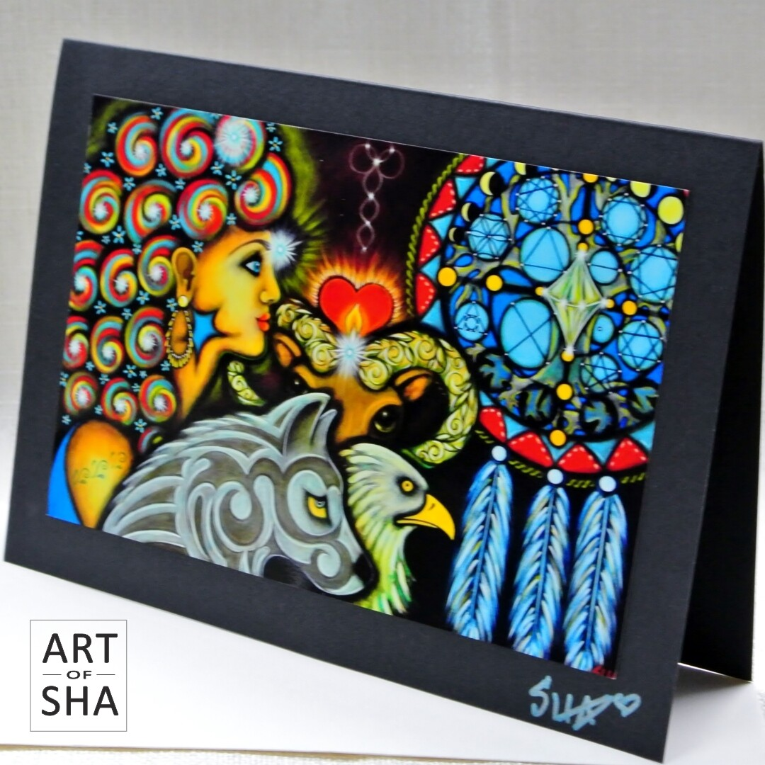 """Emanation"" - Art Card"