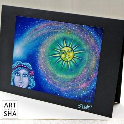 """As Above"" - Art Card"
