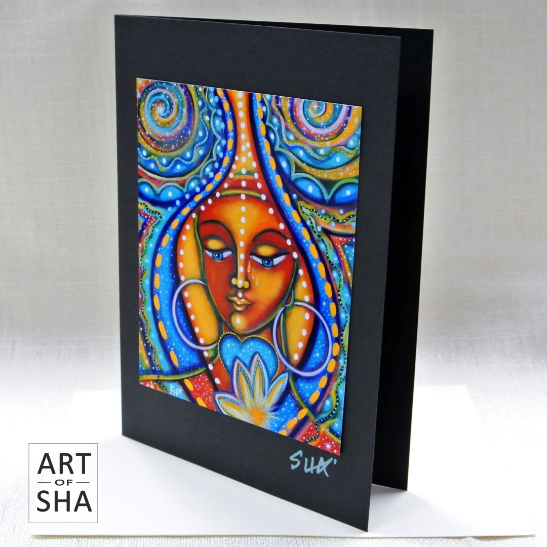 """Thine Own Self Be True"" - Art Card"