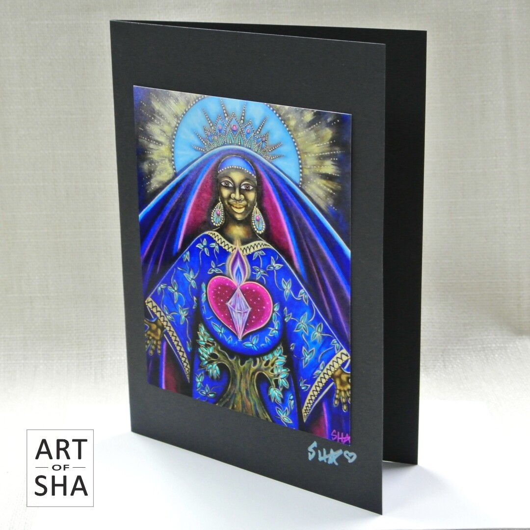 """Eternal Mother Eternal Love"" - Art Card"