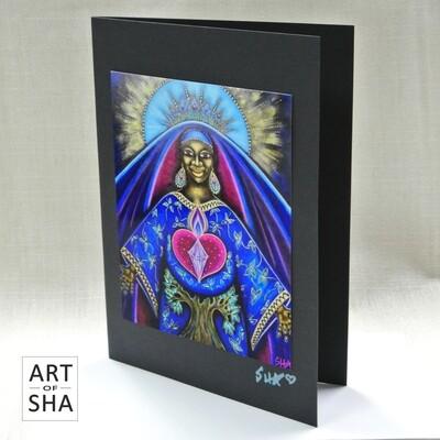 """""""Eternal Mother Eternal Love"""" - Art Card"""