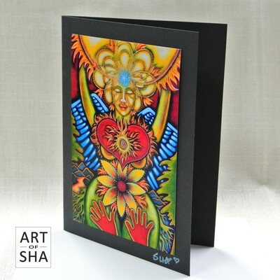 """Radiant Heart - Sol of Her Soul"" - Art Card"