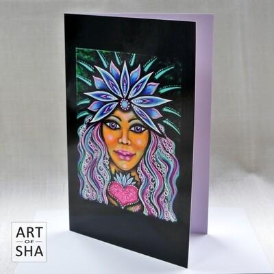 """""""Embracing Flow"""" - Art Card"""