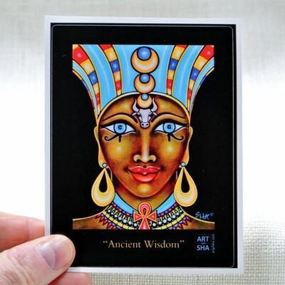 """Ancient Wisdom"" Sticker"
