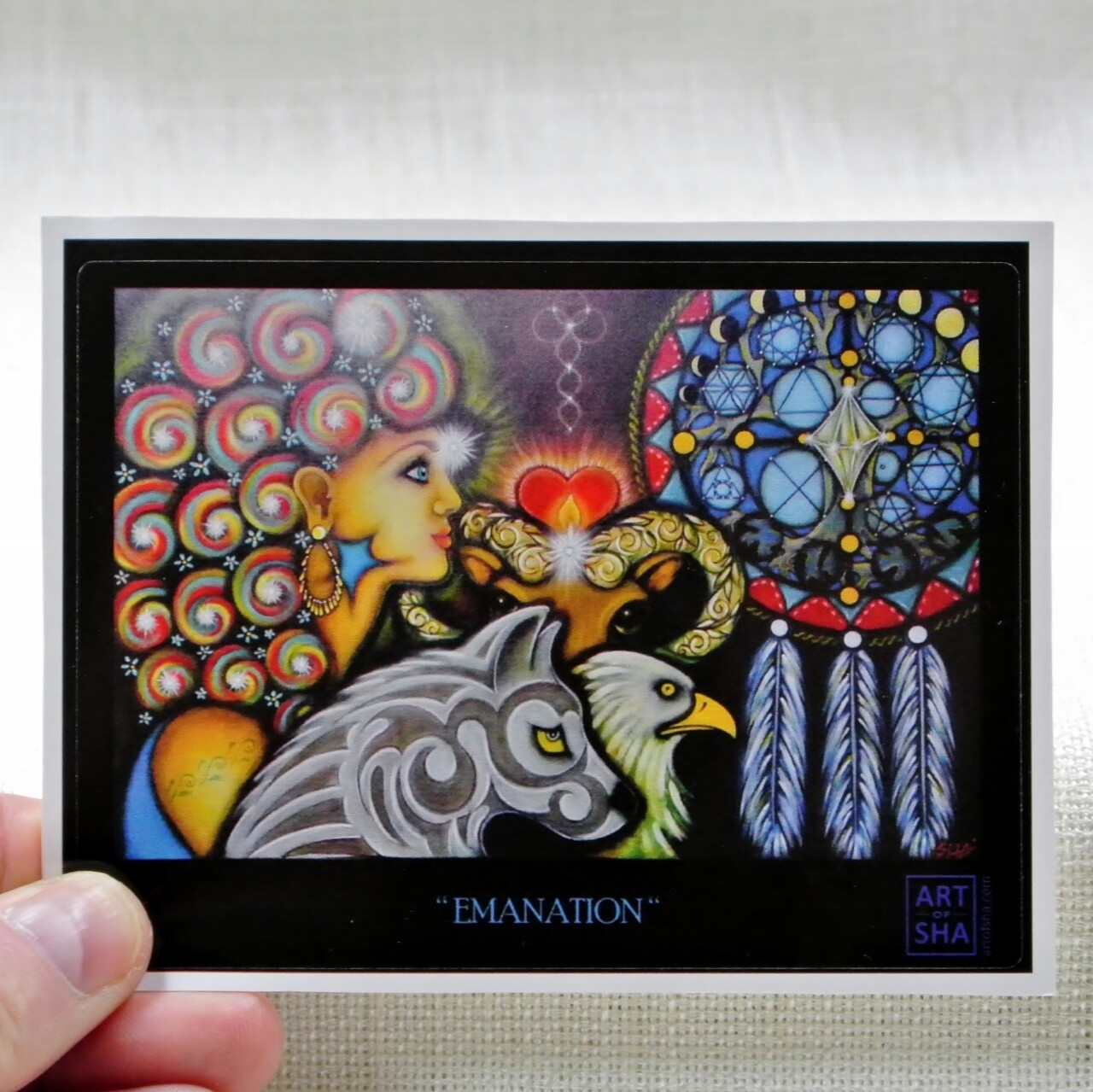 """Emanation"" Sticker"