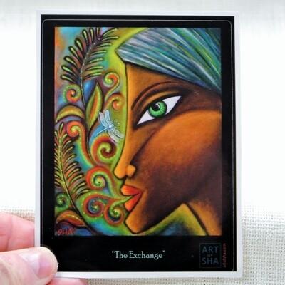"""""""The Exchange"""" Sticker"""