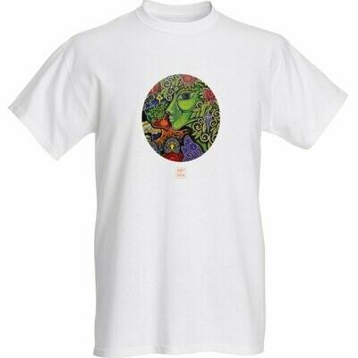 """""""Green Goddess"""" T Shirt"""