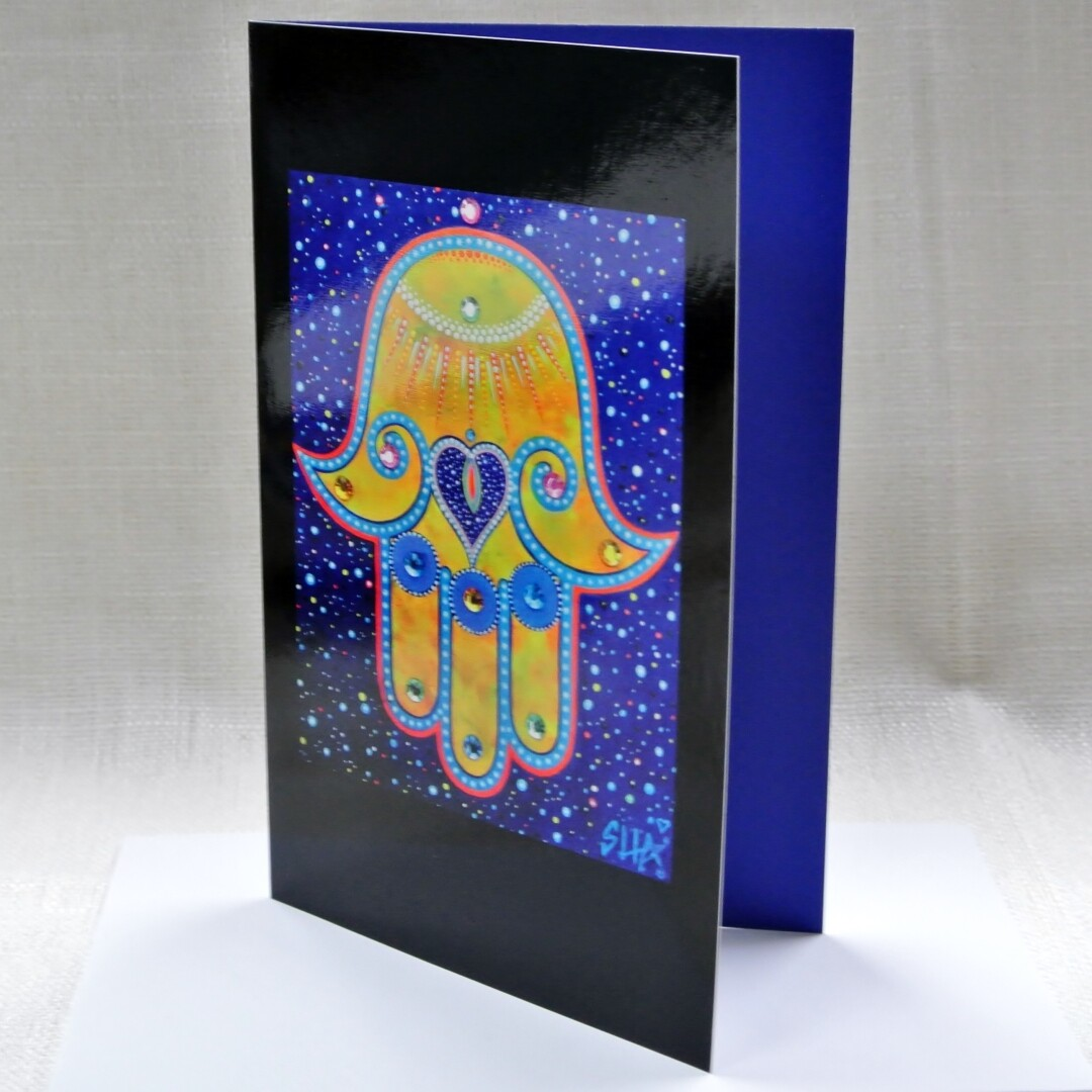 """Bless This Space"" - Art Card"