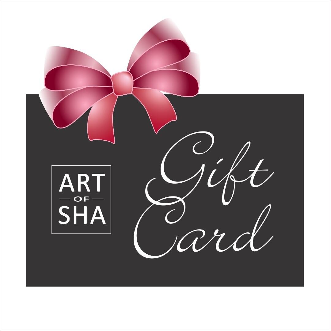 Art Of Sha Gift Card