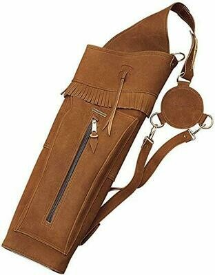 """22"""" Leather Back Quiver"""