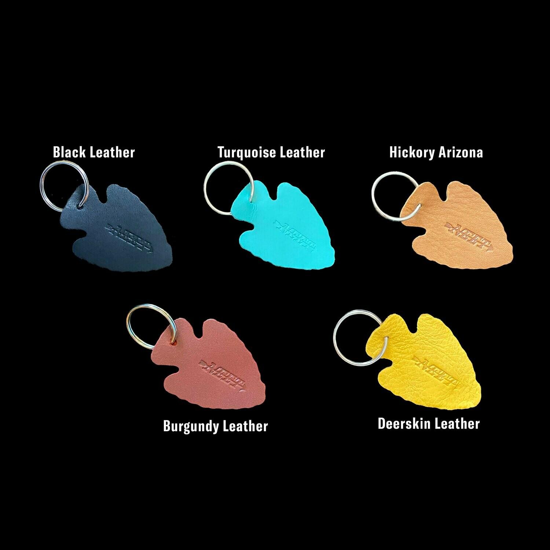 Neet Leather Arrowhead Key Fob