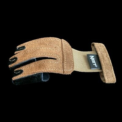 Shooting Glove with Calf Hair Tips