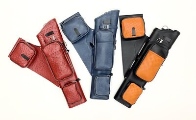 """21"""" Leather Quiver"""