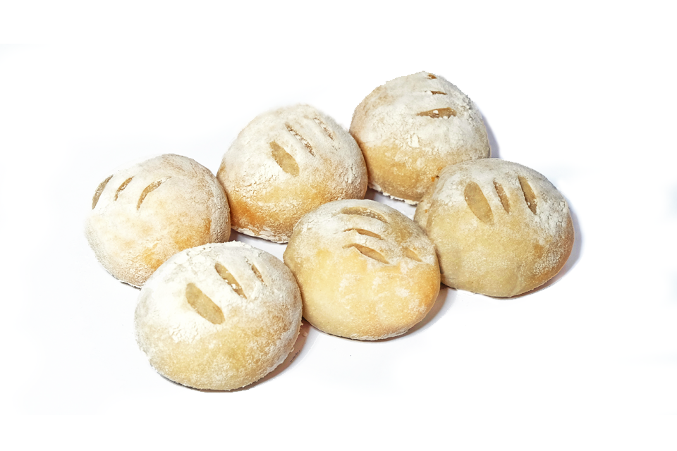 Mamou White Dinner Rolls by 6