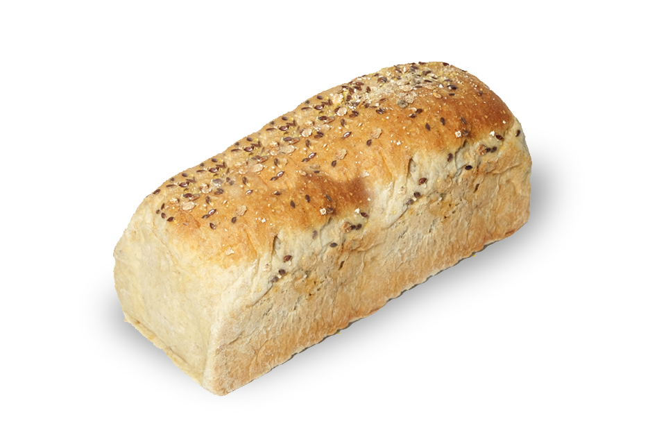 Chuck's Deli + Bakery Fresh Frozen Whole Wheat Multigrain Loaf (600g)