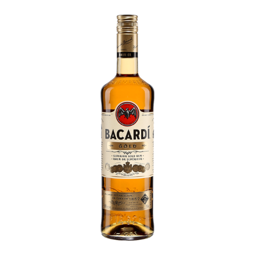 Bacardi Gold Rum (750mL)
