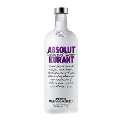 Absolut Kurant Vodka (1L)