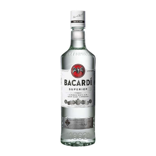 Bacardi Superior White Rum (750mL)